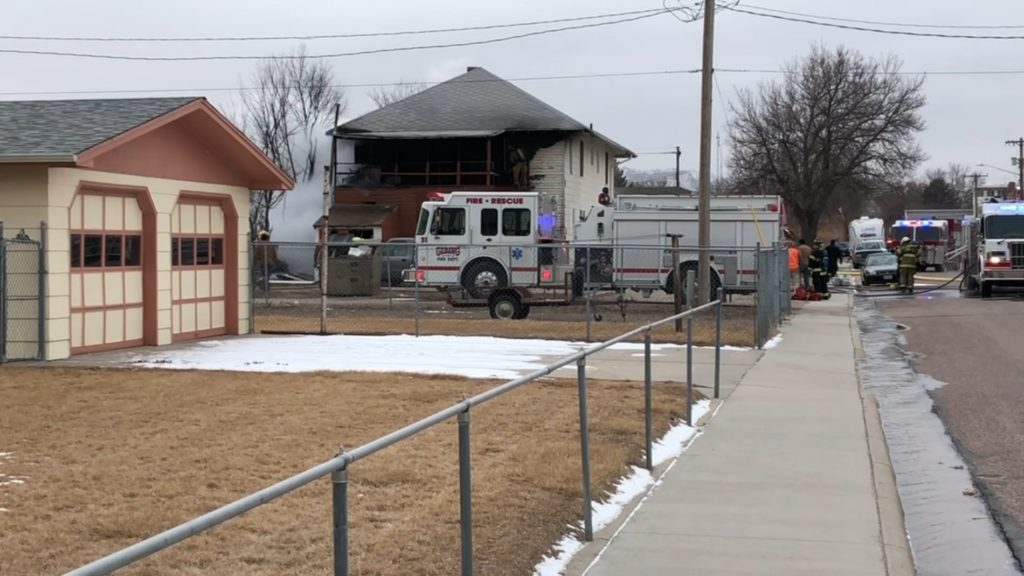 Apartment residents displaced by fire in Gering