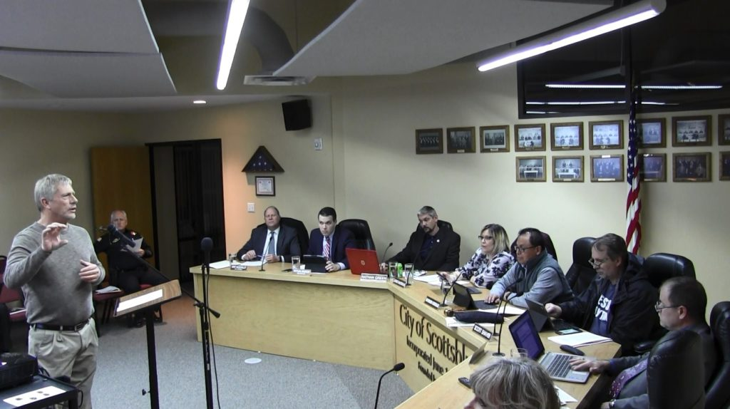 Bluffs Council Approves One and Six Year Street Improvement Plan
