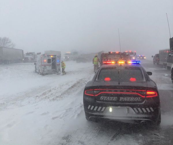 Troopers Respond to Crashes, Assist Hundreds of Stranded Motorists