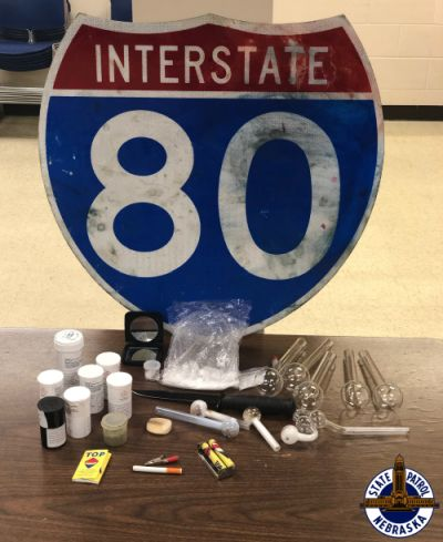 Meth, Marijuana, Knife Found in I-80 Traffic Stop