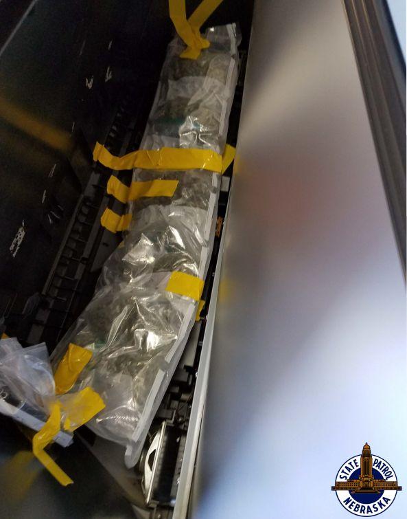 100 LBs of Marijuana Found During I-80 Traffic Stops