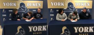 (AUDIO) Two York Dukes ink with Concordia University