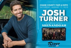 Chase Co Fair & Expo announces exciting Country line-up for the 2019 and 2020 Fairs!!