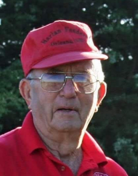Lloyd Everette Ehrke, 90 years of age, of Stamford