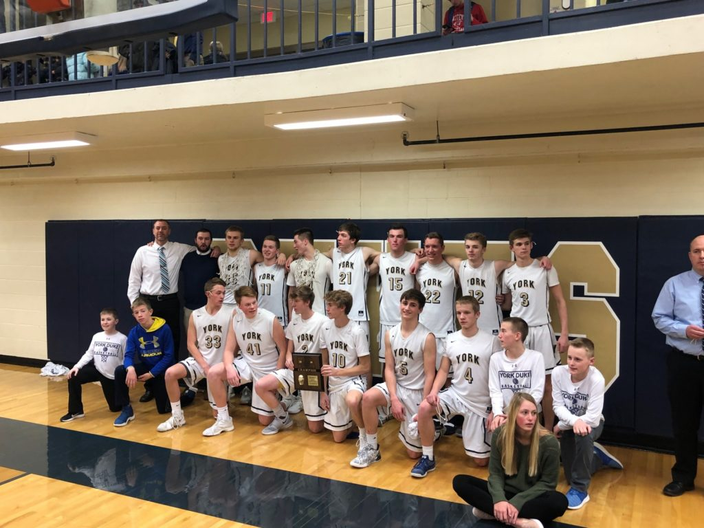 (Audio) York silences Trojan offense, state bound to defend title