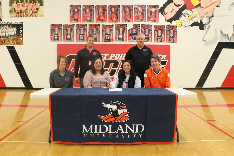 (AUDIO) West Point-Beemer's Ortiz to run Track and Cross Country at Midland