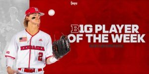 Hallmark Receives Big Ten Weekly Honor