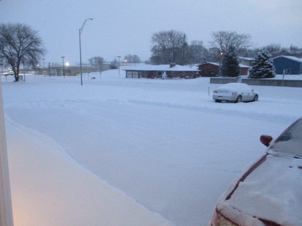 Northeast Nebraska gets snow