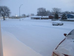 Northeast Nebraska gets snow