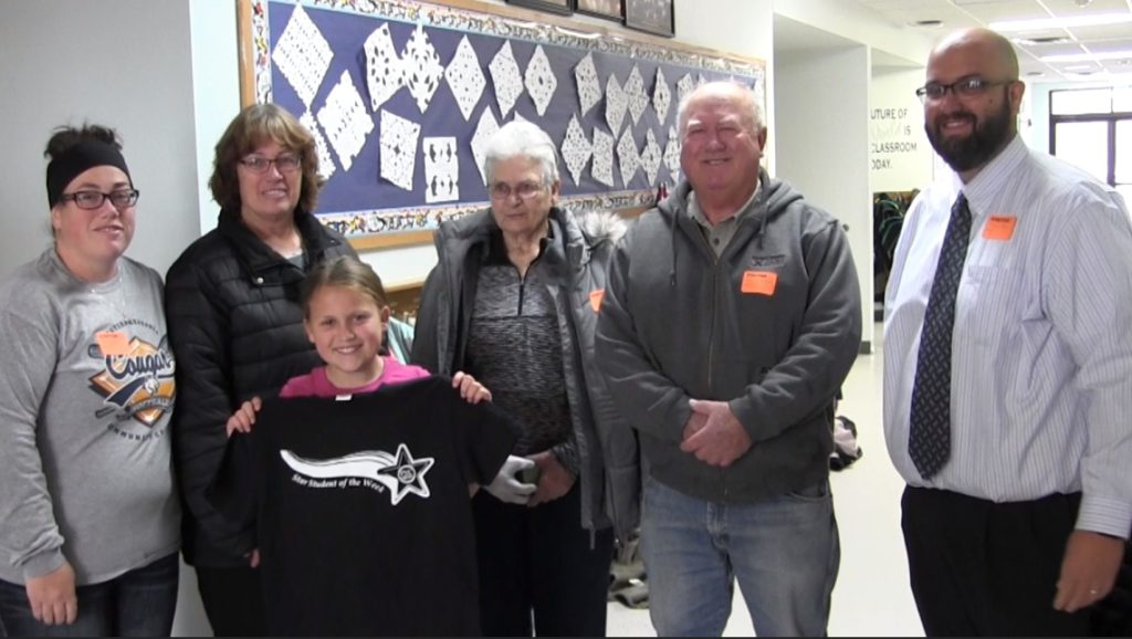 Mitchell 4th Grader Kapri Stover named PVC Star Student of the Week