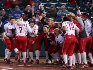 Husker Softball defeats Omaha in final game of Lone Star College Classic
