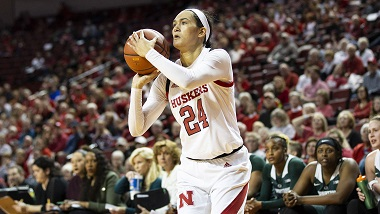 Husker Women lose at home to Iowa