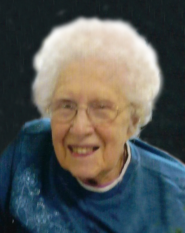 Viola Evelyn Wohleb 97 years of age, of Naponee