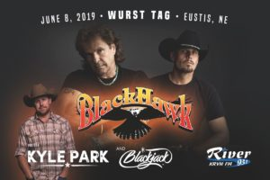 BlackHawk with Kyle Park & Blackjack to play Wurst Tag!
