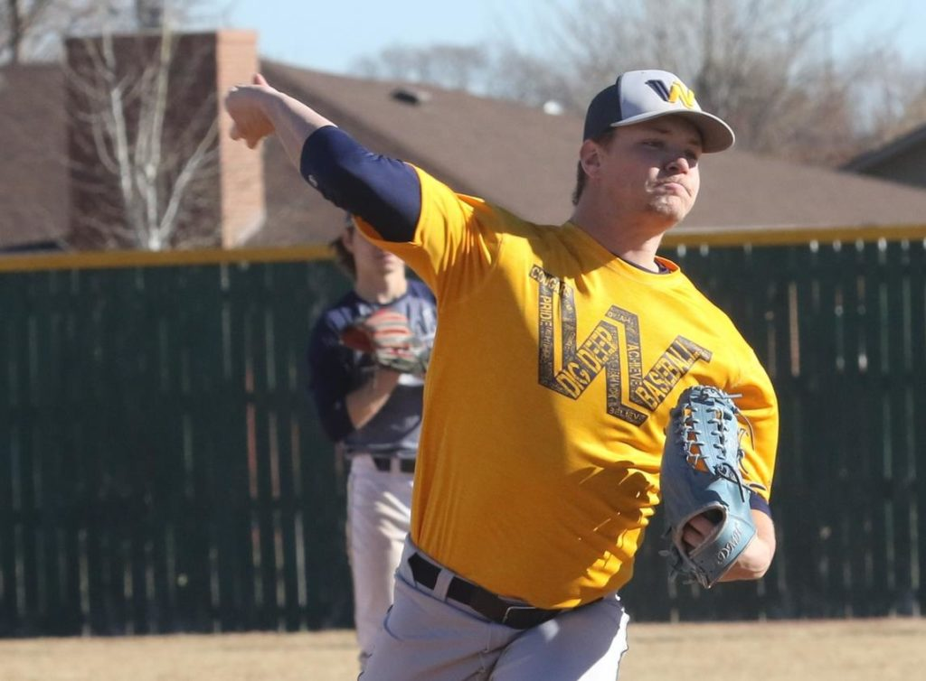 WNCC baseball falls In high-scoring games on Sunday