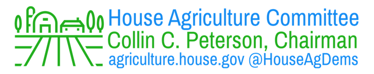 Peterson, Conaway Announce House Agriculture Subcommittee Rosters for the 116th Congress