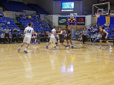 Lopers Split With Fort Hays State