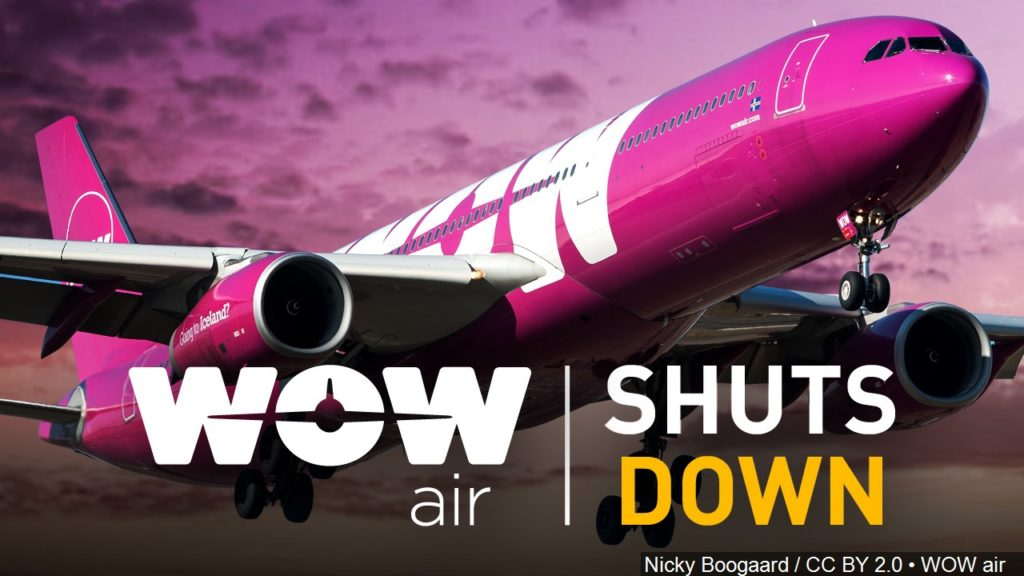 Icelandic budget airline WOW Air suddenly ceases operations; Scottsbluff couple affected