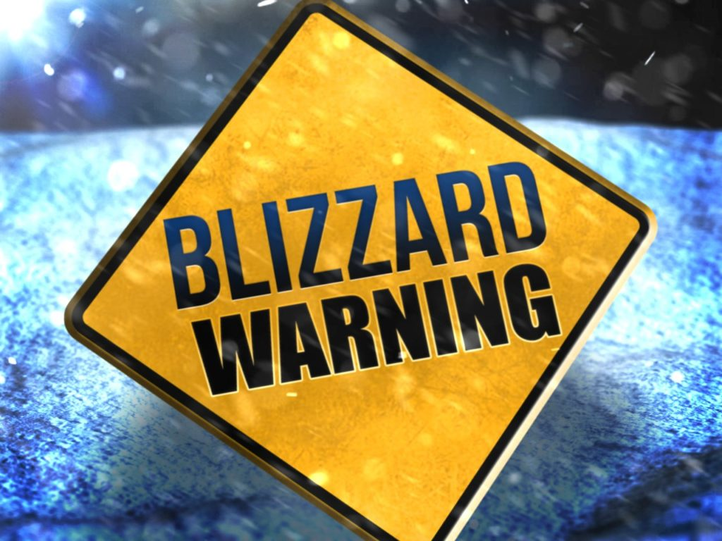 Blizzard Warning in Effect: Live Updates