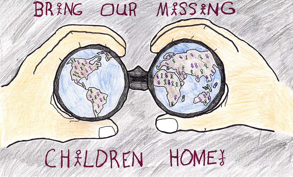 Burwell student winner in Nebraska Missing Children's Day poster contest