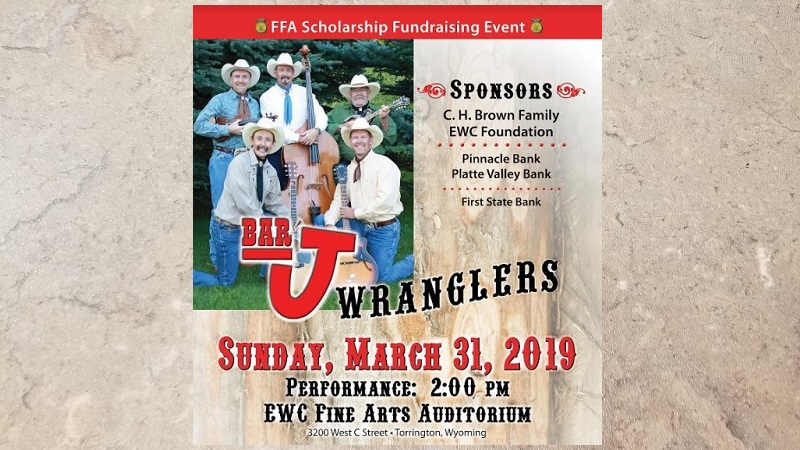 FFA scholarship fund to benefit from weekend concert at EWC