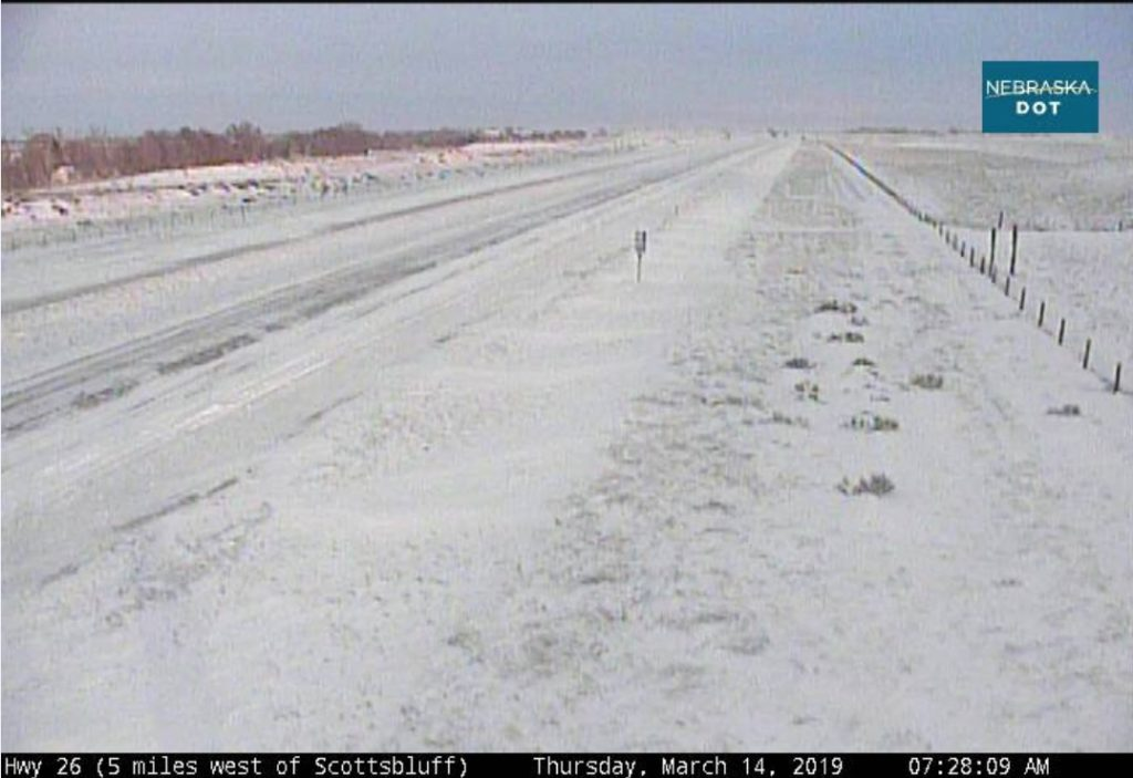 Nebraska Panhandle Highways remain closed on Thursday morning