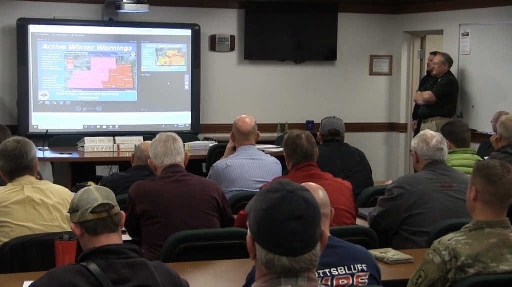 Officials meet to share storm preparations, coordinate response efforts