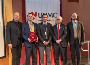 Live On Nebraska receives UNMC's Community Service to Research Award