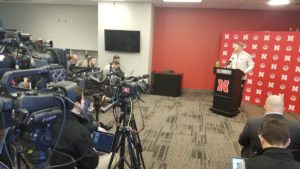 (Video) Scott Frost, Nebraska players address the media - Huskers Spring Press Conference