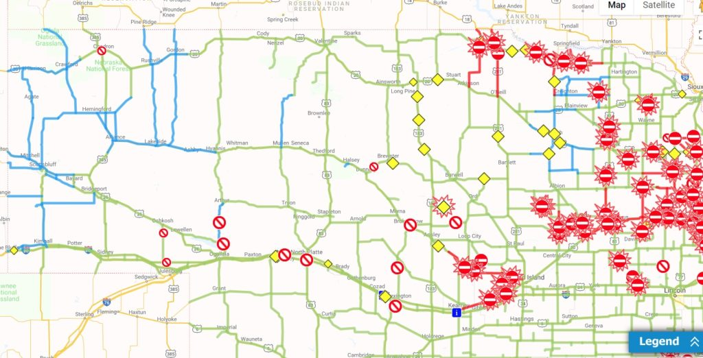 All Panhandle highways reopened following winter storm
