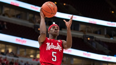Husker Men upset Maryland in Big Ten Tournament