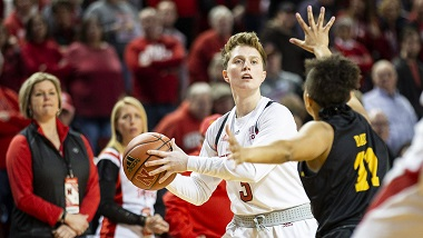 Whitish Earns All-Big Ten Honors