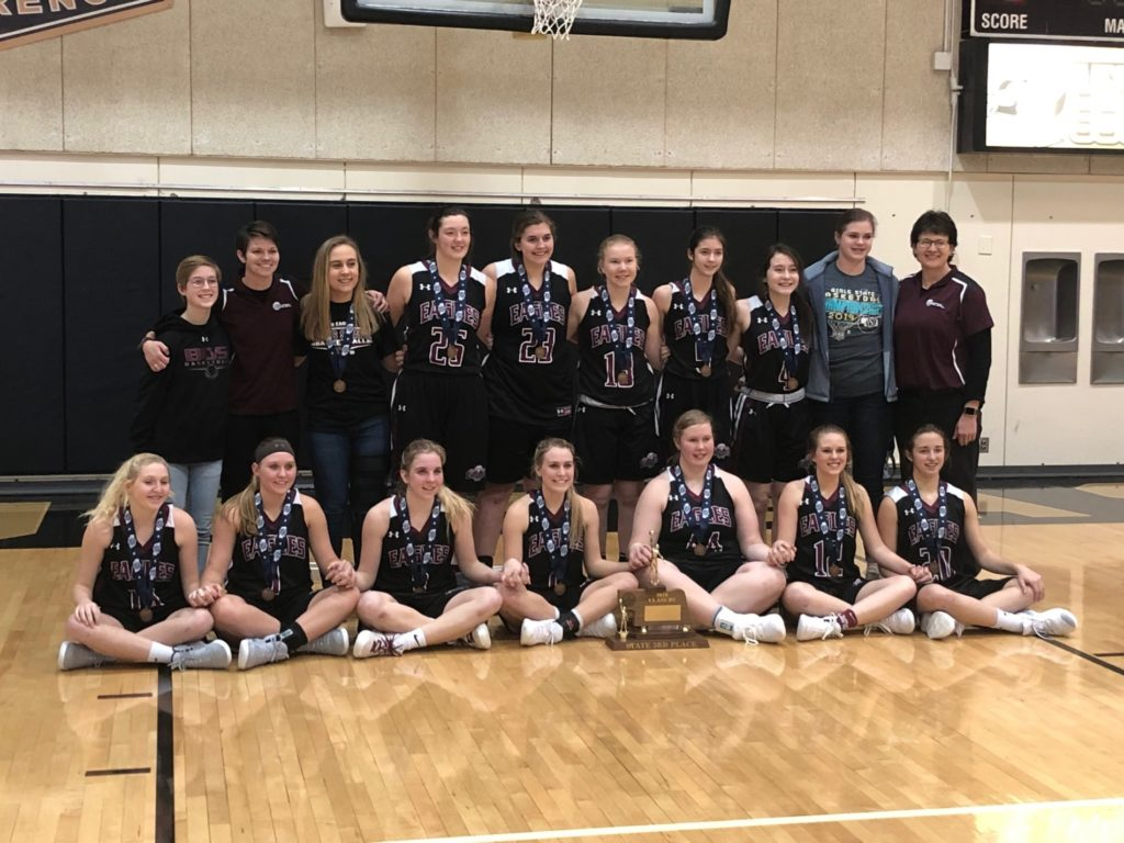 (Audio) Kadel layup propels Eagles past Jets for third place championship