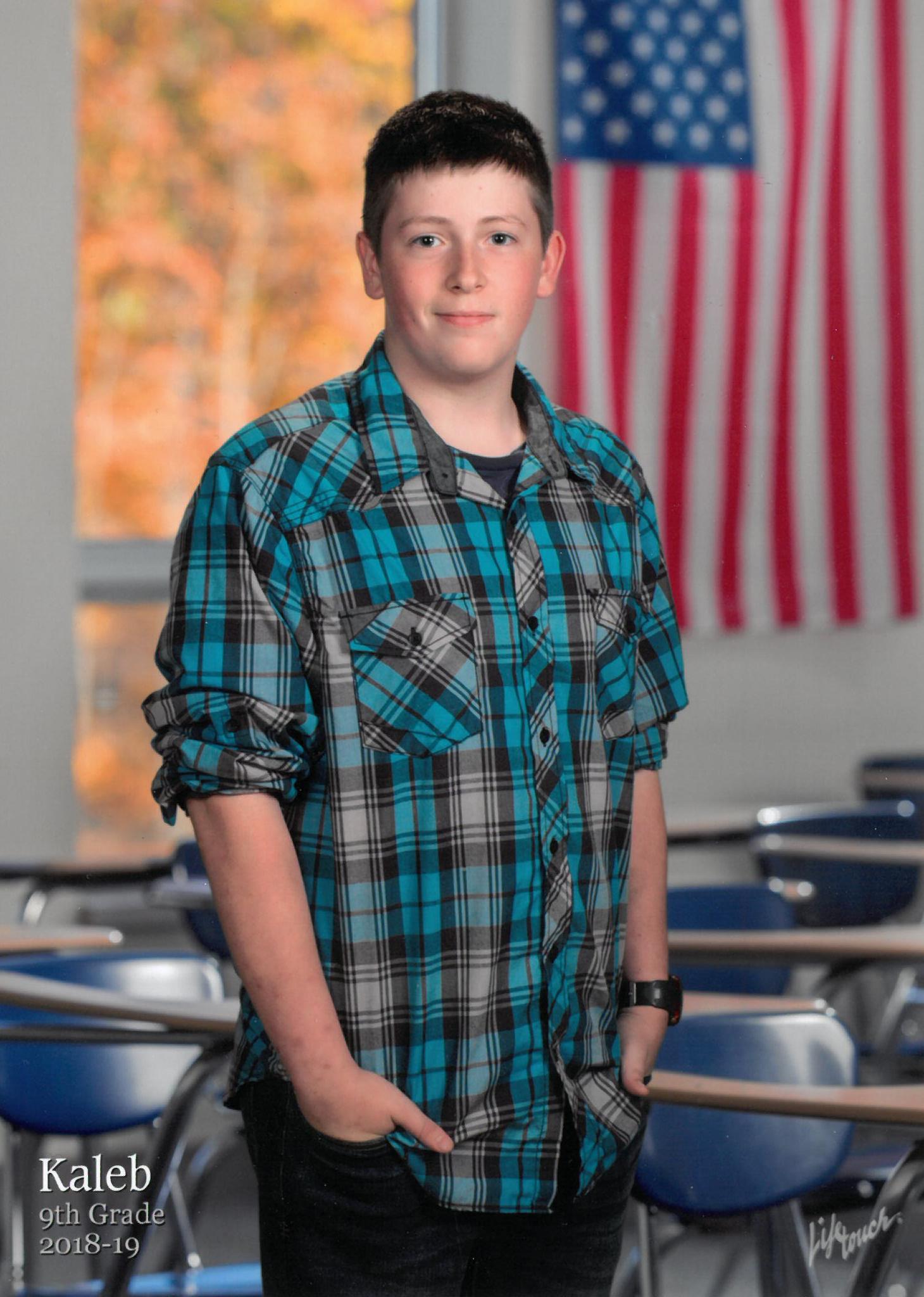 Kaleb Matthew Staman, 15