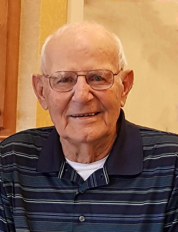 Leopold (Leo) F. Mazanec, 96, formerly of Overton and Lexington