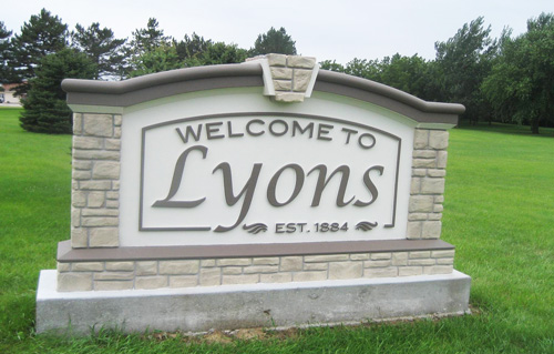 Public Notice from the City of Lyons