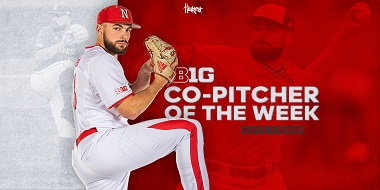 Fisher Named Big Ten Co-Pitcher of the Week
