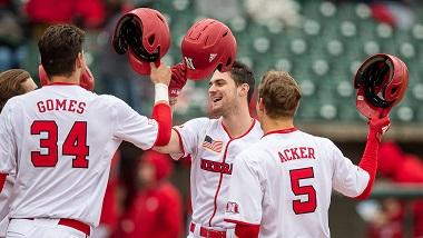 Nebraska Baseball wins home opener over Air Force