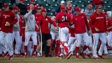 Husker Baseball doubles up Creighton at TD Ameritrade