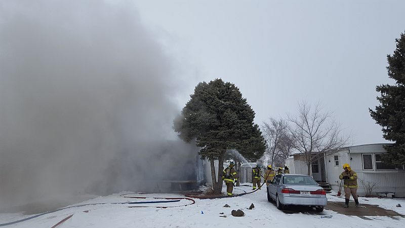 Residential fire in Lexington Thursday afternoon