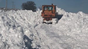 Snowdrift battle continues for county roads departments