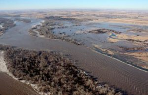Nebraska archeologists hope to find nothing in flooded farms