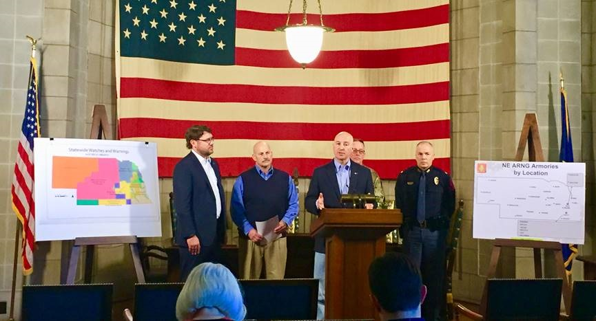 Gov. Ricketts, State Agencies Urge Caution as Severe Weather, Flooding Continues