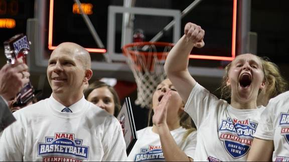 Olson named National Coach of Year, Barry Tournament MVP