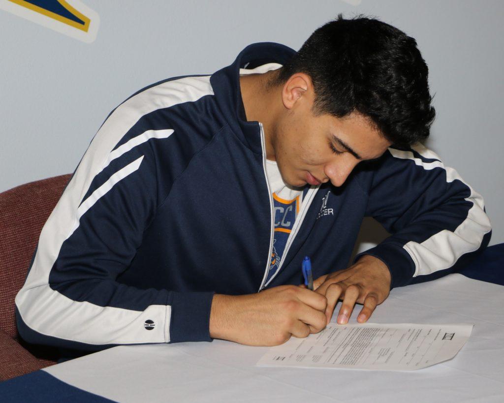 WNCC's Leo Palomo inks with Concordia soccer