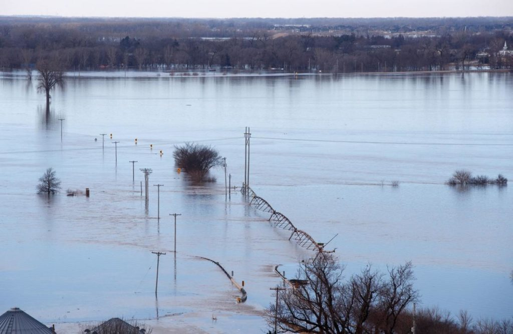 Nebraska flooding ruins family farm