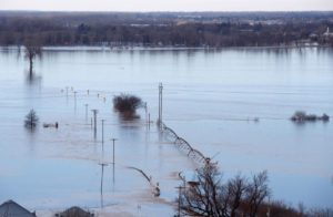 Nebraska woman dead after flood waters trap her