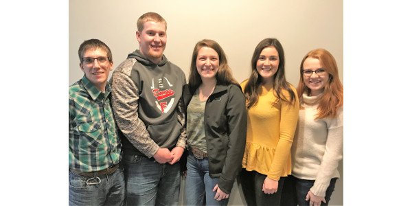 Students selected for 2019 pork mentorship program