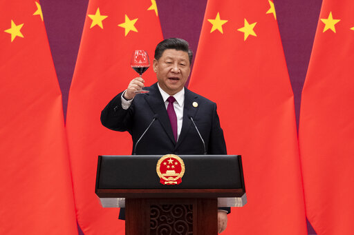 China's Xi promotes building initiative amid debt worries