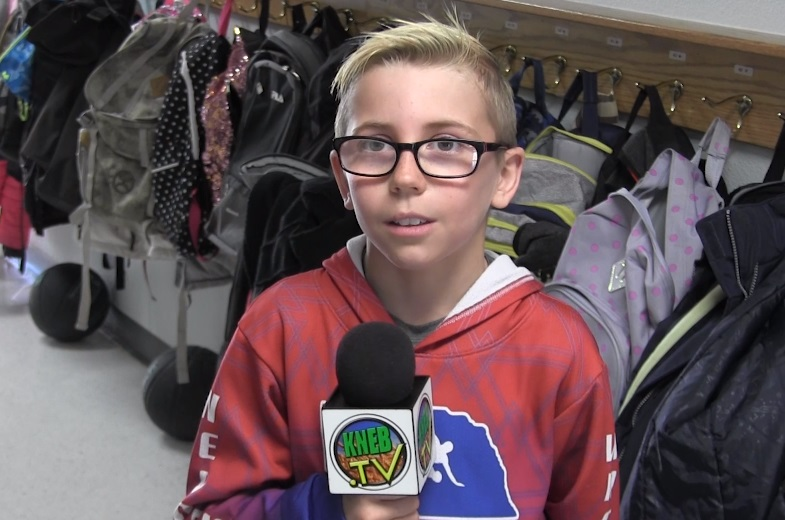 Mitchell 4th Grader Brody Fuss named PVC Star Student of the Week